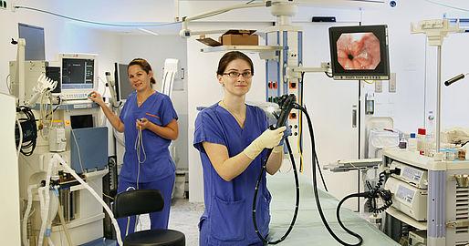 Diät vor der Fazer-Endoskopie